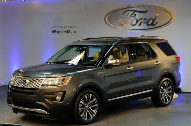 Ford Explorer 2016 Фото 38