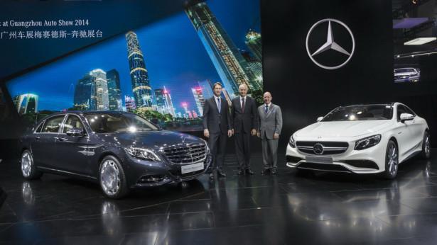 Mercedes Benz в Китае Фото 08