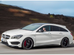 Mercedes CLA Shooting Brake 2015 Фото 07