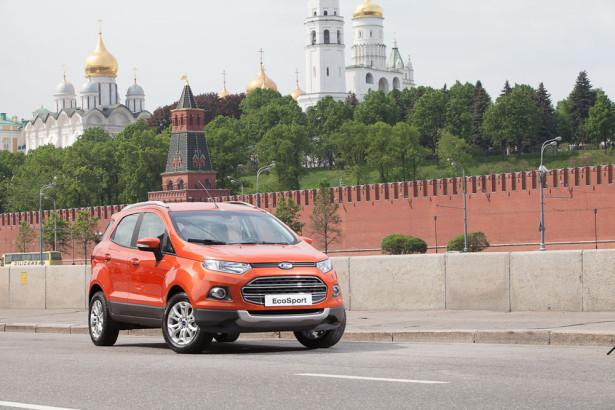 Производство Ford EcoSport России Фото 01