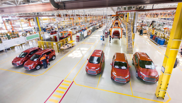 Производство Ford EcoSport России Фото 02