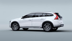 Volvo V60 Cross Country, exterior, studio, side, rear