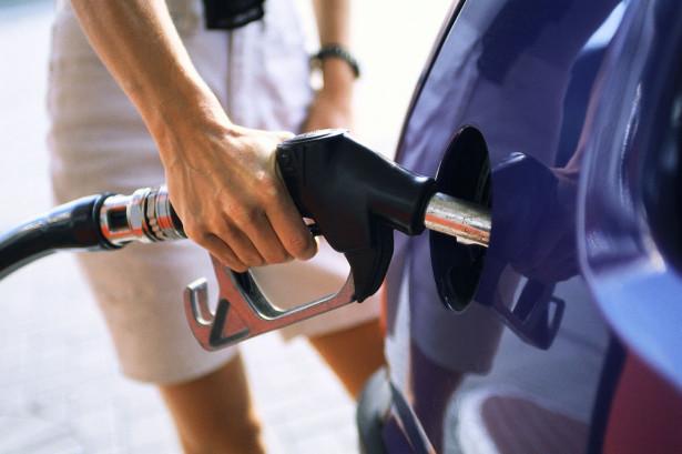 Driver Filling Fuel Tank