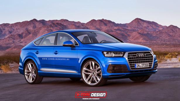 Audi Q8 концепт 2015