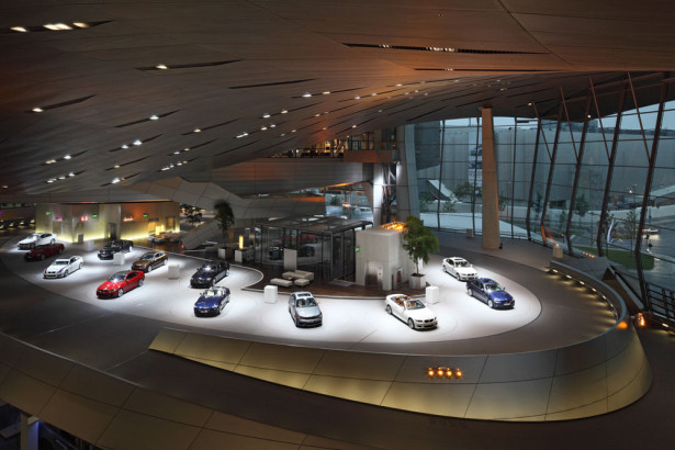 BMW Welt - interior view of the premiere (03/2011)