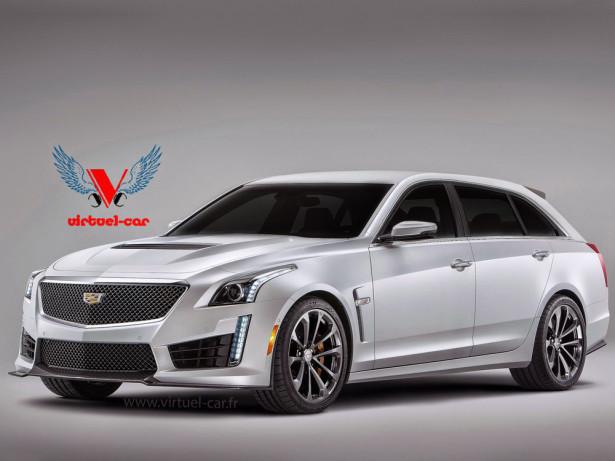 Cadillac CTS-V Wagon 2016