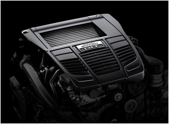 Двигатель нового Subaru WRX