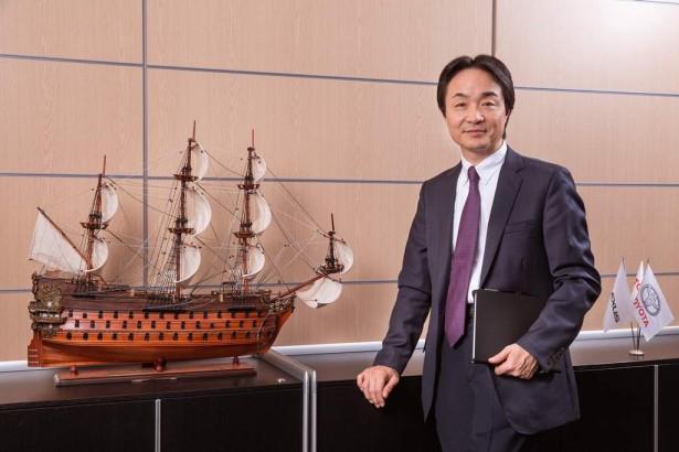 Хидэнори Одзаки президент Тойота Мотор