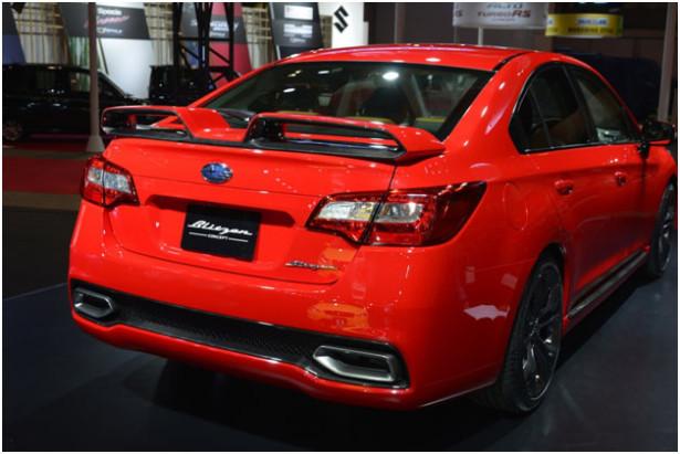 Subaru Legacy и Levorg 1