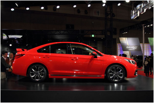 Subaru Legacy и Levorg 2