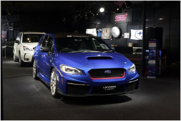 Subaru Legacy и Levorg 4