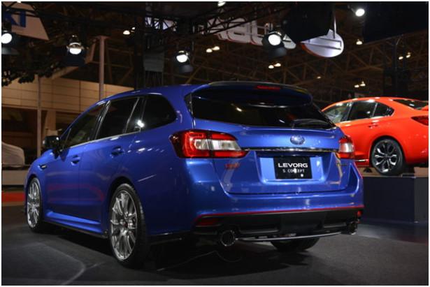 Subaru Legacy и Levorg 5