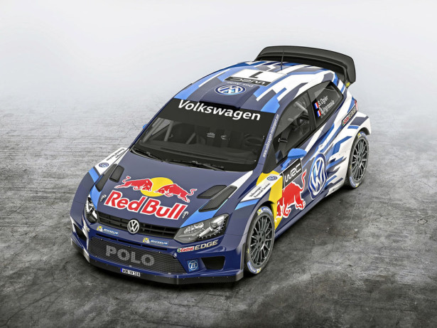Volkswagen Polo R WRC 2015 Фото 04