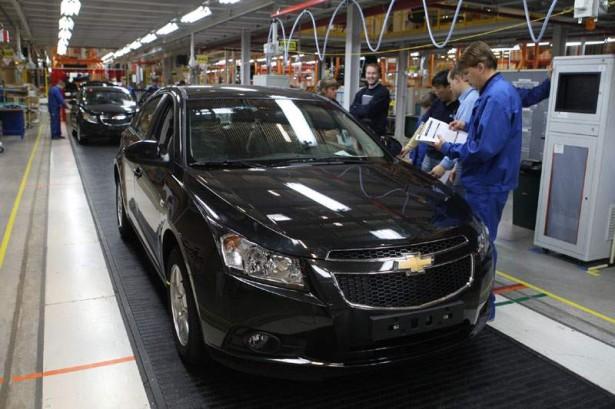 Завод GM в Санкт-Петербурге