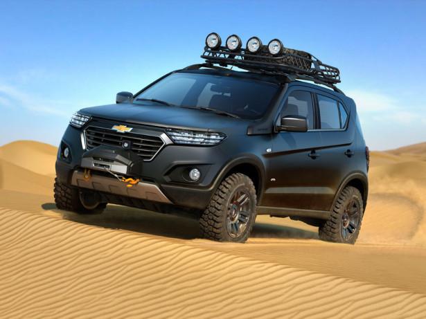 Chevrolet Niva концепт 2015 Фото 1