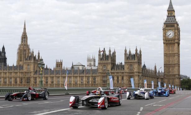 Формула E в Лондоне 2015 Фото 01