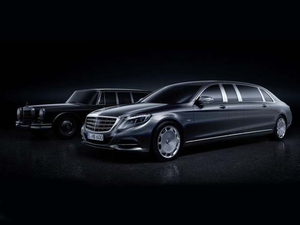 Лимузин Mercedes-Maybach Pullman 2015 Фото 03