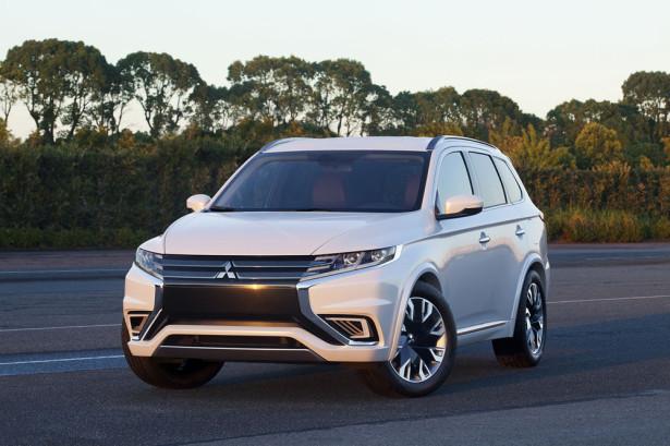 Mitsubishi Outlander PHEV Concept Фото 13