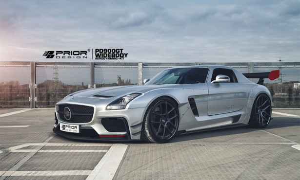 Prior Design Mercedes SLS AMG Фото 01