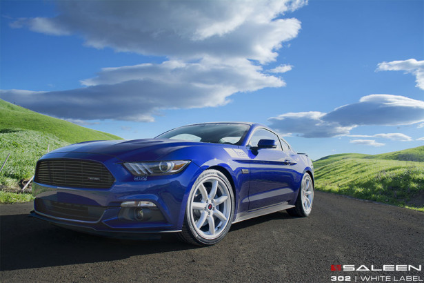 Saleen 302 White Label Mustang 2015  Фото 01
