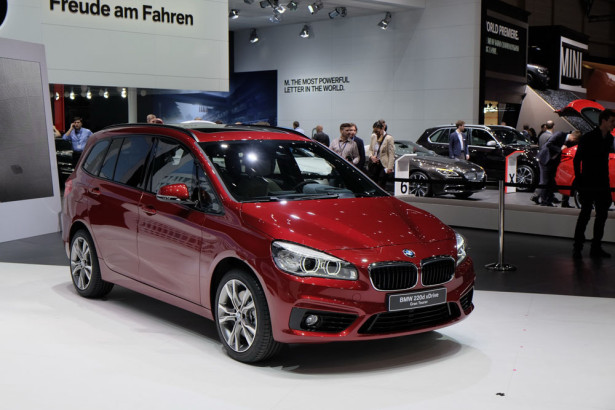 BMW 2-Series Grand Tourer 2015 Фото 21
