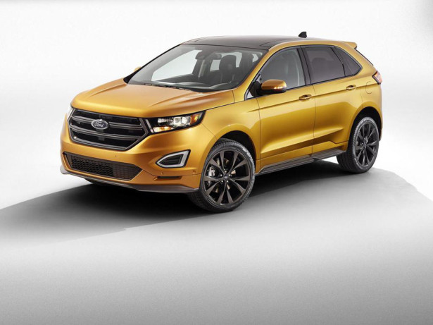 Ford Edge S 2015 Фото 04