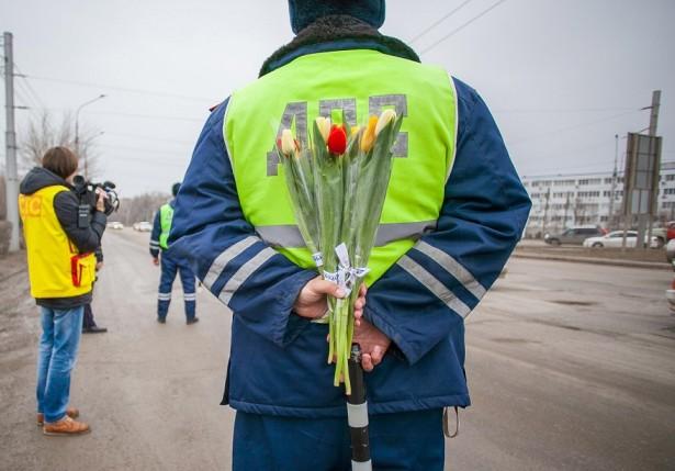 Цветочный патруль для милых дам