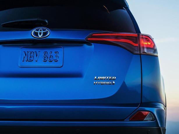 Toyota Rav4 гибрид 2015