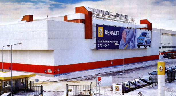 renault автофрамос