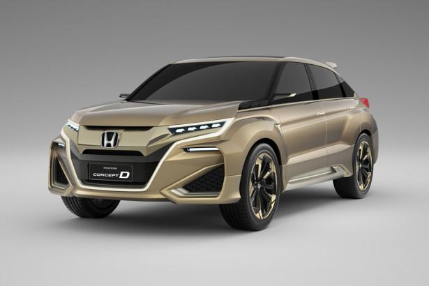 Концепт Honda D 2015 Фото 01