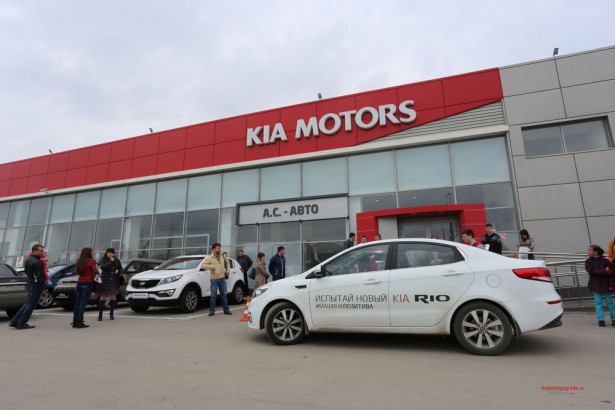 Презентация KIA Rio 2015 в Волгограде 53