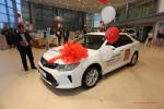 Презентация Toyota Camry с новым двигателем 2.0 литра в Волгограде