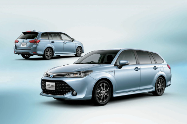 Toyota Corolla Fielder Hybrid 2015 Фото  02
