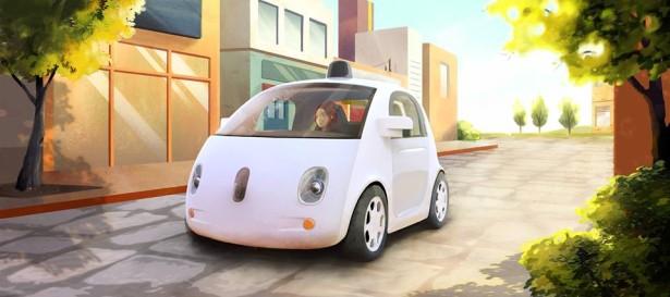 автономные автомобили Google