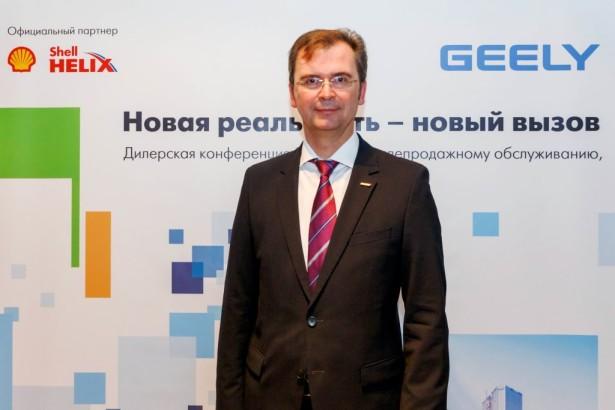 пресс-конференция Geely 03