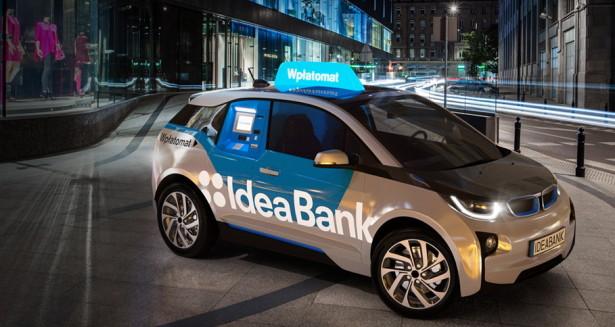 BMW i3 банкомат от IdeaBank