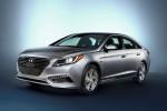 2016 Hyundai Sonata Plug-in Hybrid Electric Vehicle (PHEV), Front 3/4 Exterior