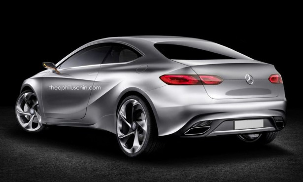 Mercedes A-Class Coupe Фото 02