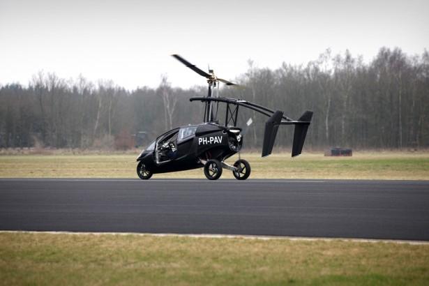 PAL-V Летающий автомобиль  Фото 01