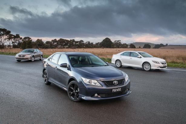 Toyota Aurion Австралия 2015 Фото 01