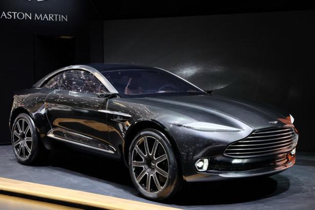Внедорожник Aston Martin DBX 2015 фото 09
