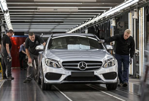 Mercedes-Benz C-Klasse Produktion im Werk Bremen