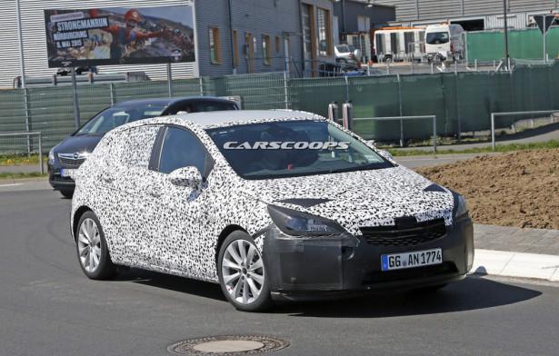 тест Opel Astra GSi 2015 Фото 02
