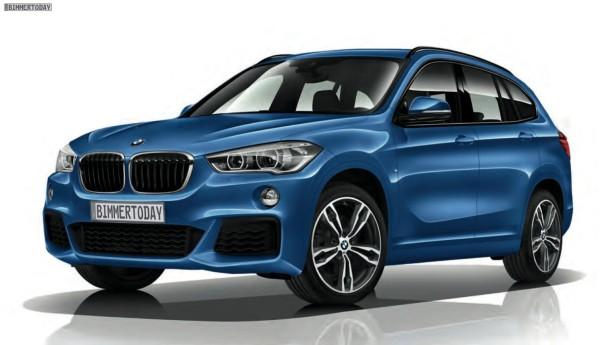 BMW X1 с пакетом М 2016 Фото 01
