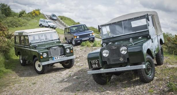Land Rover открывает Школу вождения в Великобритании