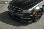 Mercedes C63 AMG Vorsteiner Фото 08