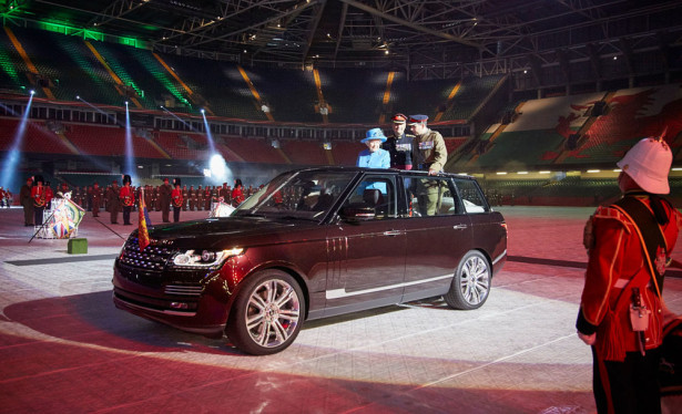 Range Rover State Review Vehicle