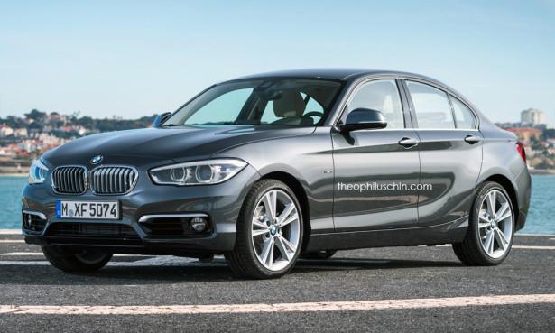 BMW 1-Series 2015 седан 1