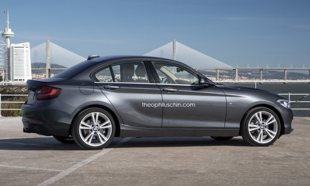 BMW 1-Series 2015 седан
