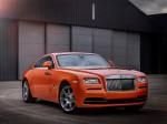 Оранжевый Rolls-Royce Wraith 2015 Фото 02